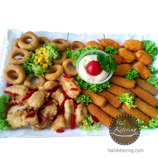 Fish mix tartar umak